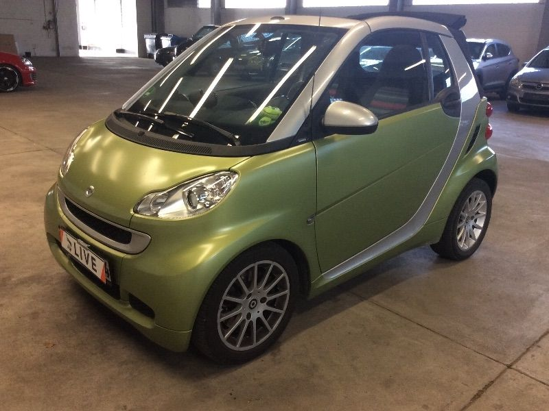 smart fortwo 1 0 micro hybrid drive passion navi. Black Bedroom Furniture Sets. Home Design Ideas