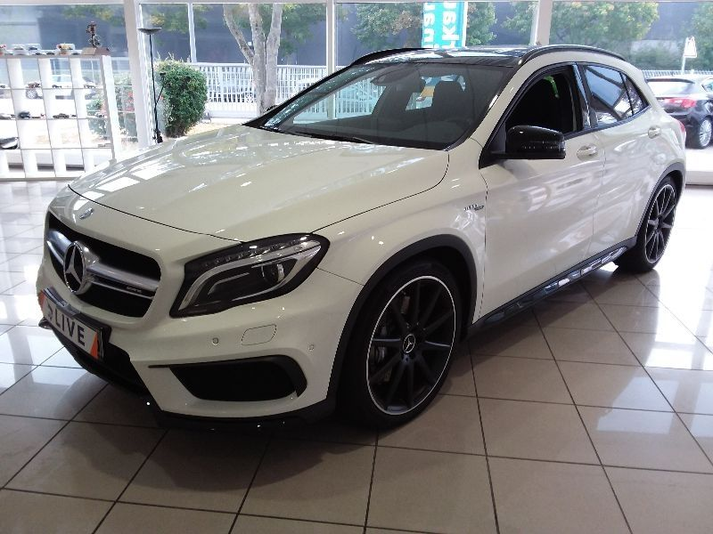 mercedes benz gla 45 amg 4matic shz navi xenon. Black Bedroom Furniture Sets. Home Design Ideas