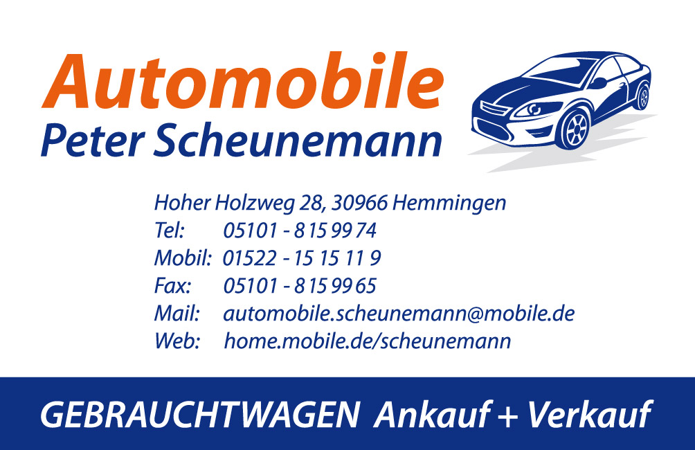 Scheunemann, Peter Automobile, Inh. Peter Scheunemann
